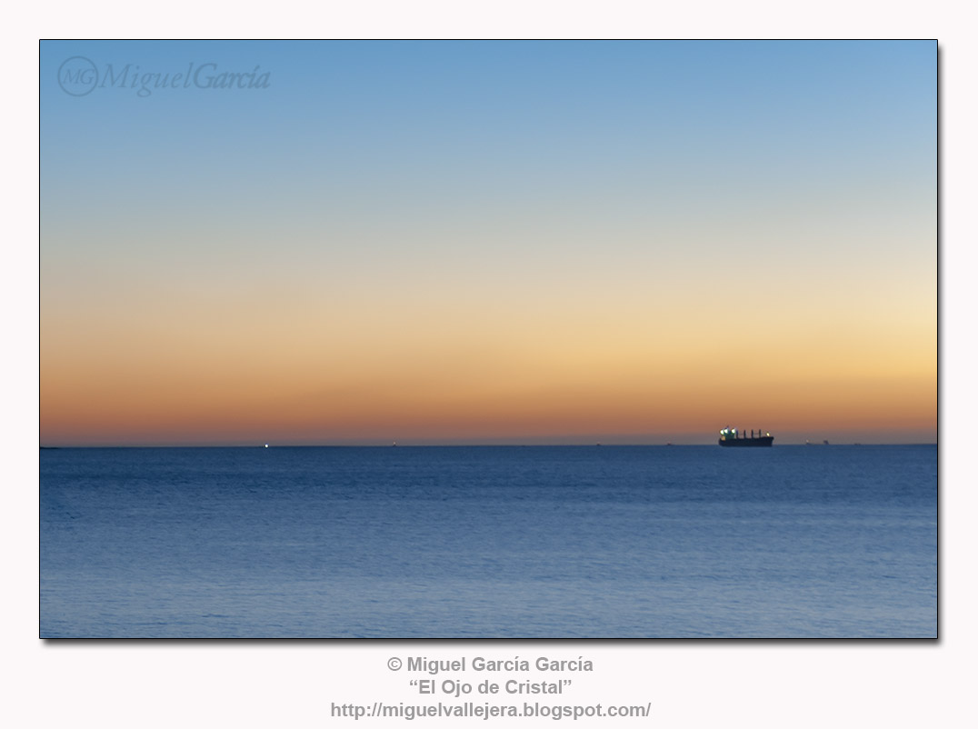 Horizontes. Playa de Ber, Pontedeume (A Coruña)