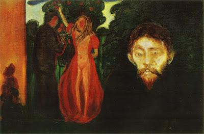 Edvard Munch - La jalousie, 1895.