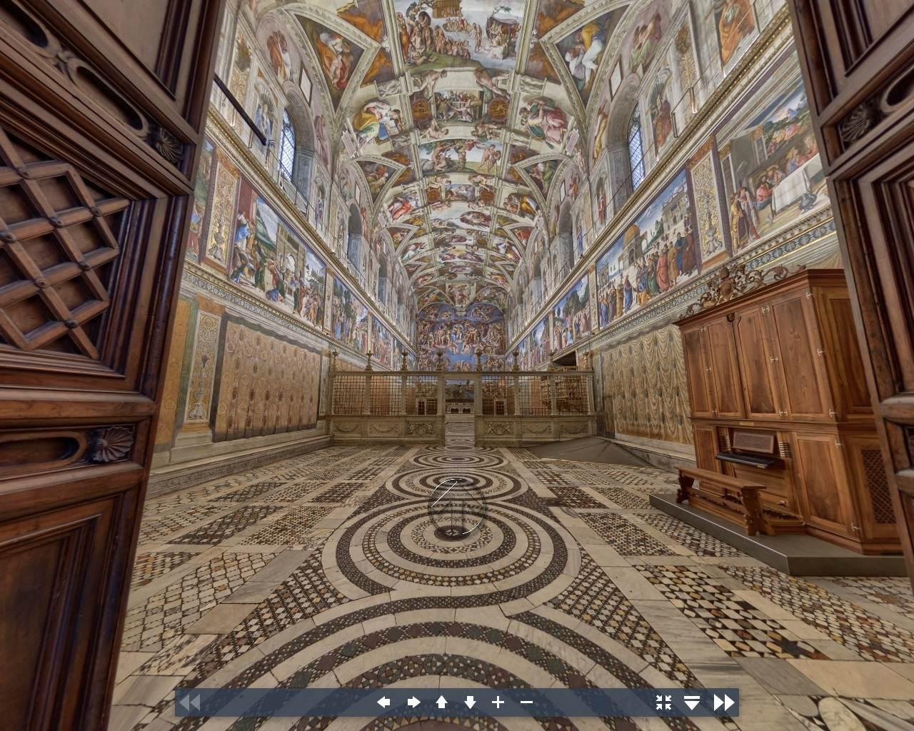 Museu do vaticano - Capela Sistina