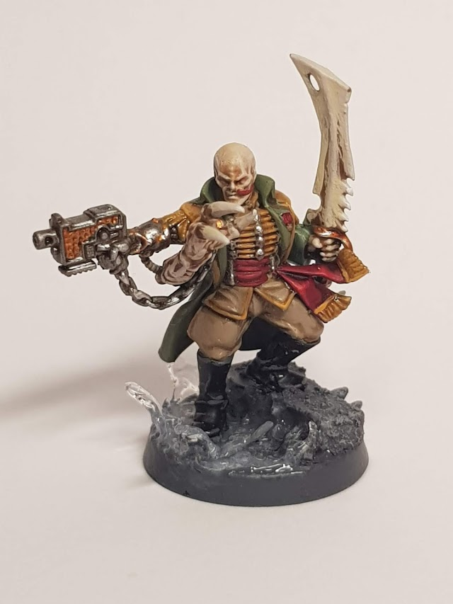 What's On Your Table: Genesteaker Cult Primus/Commissar Conversion