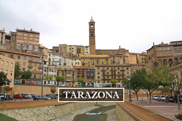 Tarazona y su sorprendente arte mudejar (Zaragoza)