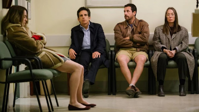 "Misery reigns in ""The Meyerowitz Stories"""