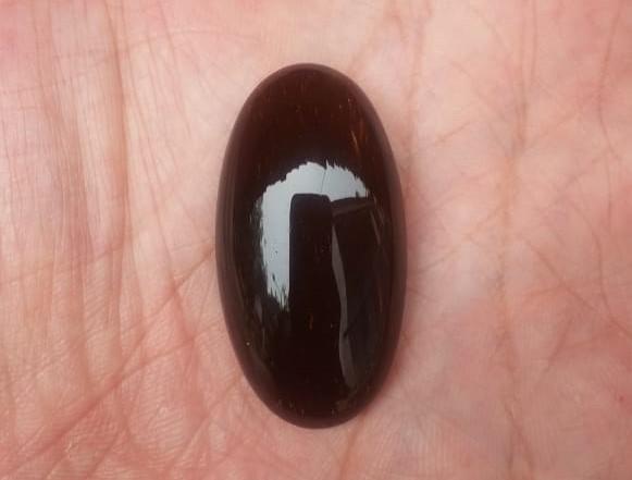 Fosil Genter Katilayu Asli Cirebon Coklat Kopiko