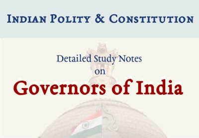 Governors of India   Detailed GK Notes