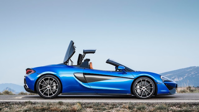 McLaren 570S Spider horsepower