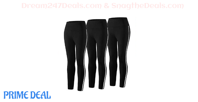 50% OFF 3 Pack Women Yoga Pants High Waist