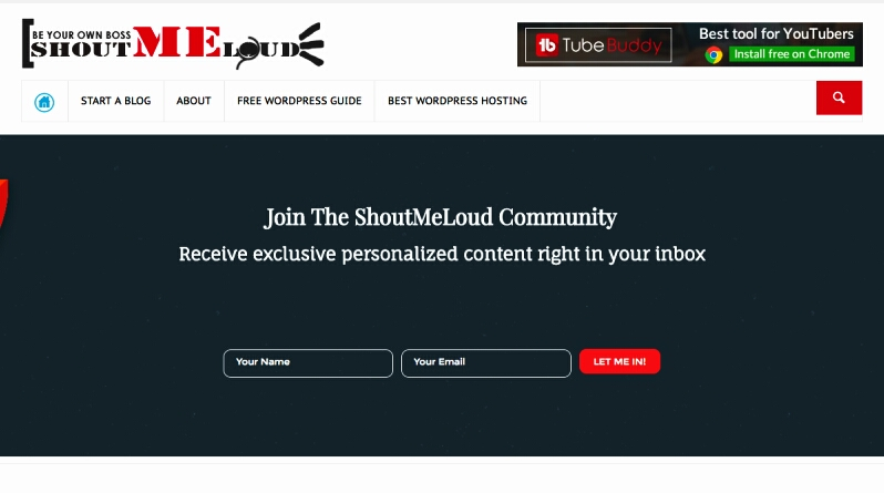 Blogging Tips Blog ShoutMeLoud