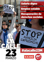 #alacalle23M_cartel_CCOO