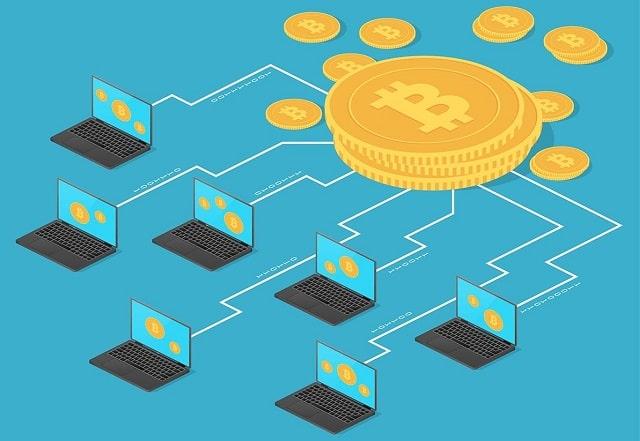blockchain technology bitcoin tech cryptocurrency