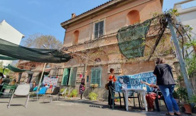 La Casa delle Donne di Roma non sarà sgomberata