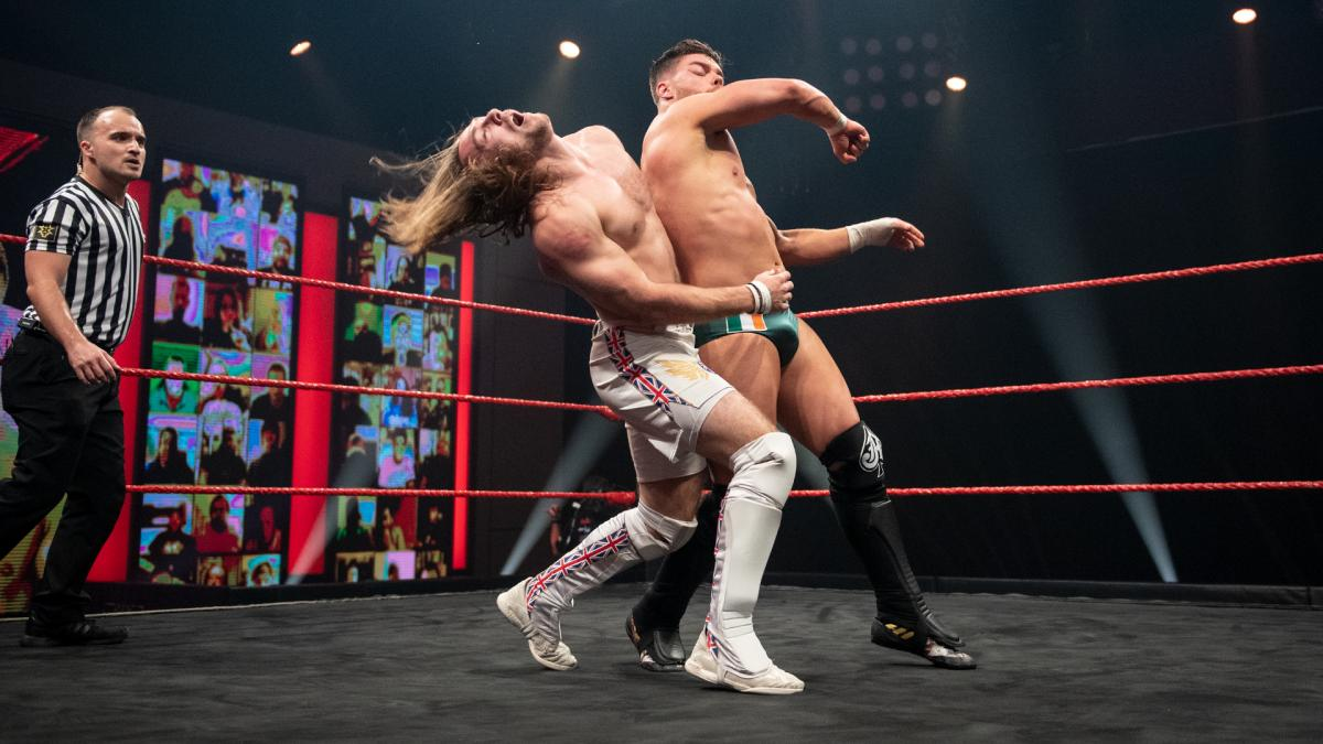 Ben Carter and Jordan Devlin on WWE NXT UK