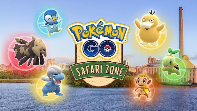 Pokémon GO Zona de Safári