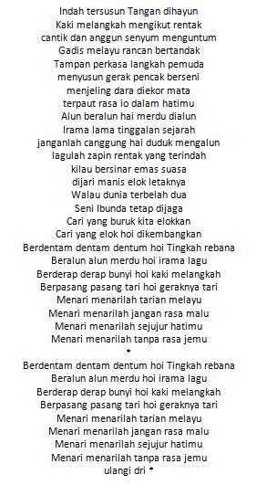 Lirik Lagu Zapin Melayu Lesti