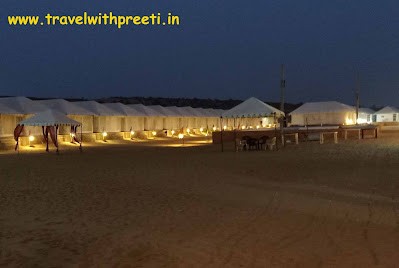 जैसलमेर कैंप का अनुभव - Jaisalmer safari camp | Jaisalmer sand dunes camp booking