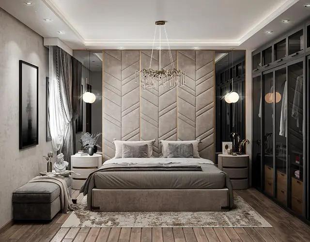 غرف نوم رومانسية حديثة