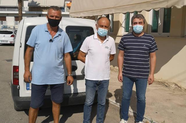 Δωρεά ιματισμού στο Νοσοκομείο Ναυπλίου από την οικογένεια Σκαλίδη