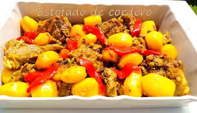 Estofado De Cordero Con Patatas