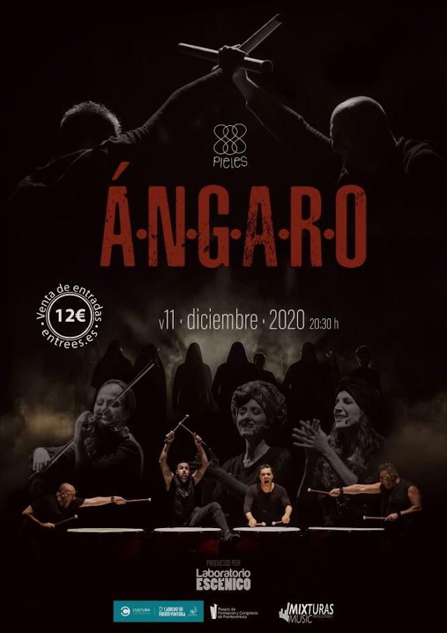 Fuerteventura.- Energía y magia del espectáculo Ángaro llega al Palacio de Formación y Congresos
