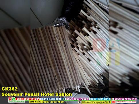 jual Souvenir Pensil Hotel Sablon