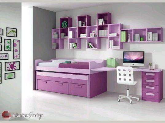 Colorful Teenagers Bedrooms 5