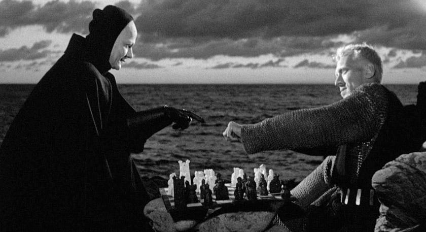 Кадр із фільму «Сьома печатка»
