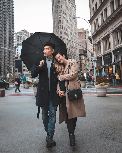 Winter Style Roundup for Men - Leo Chan and Alicia Mara Couple