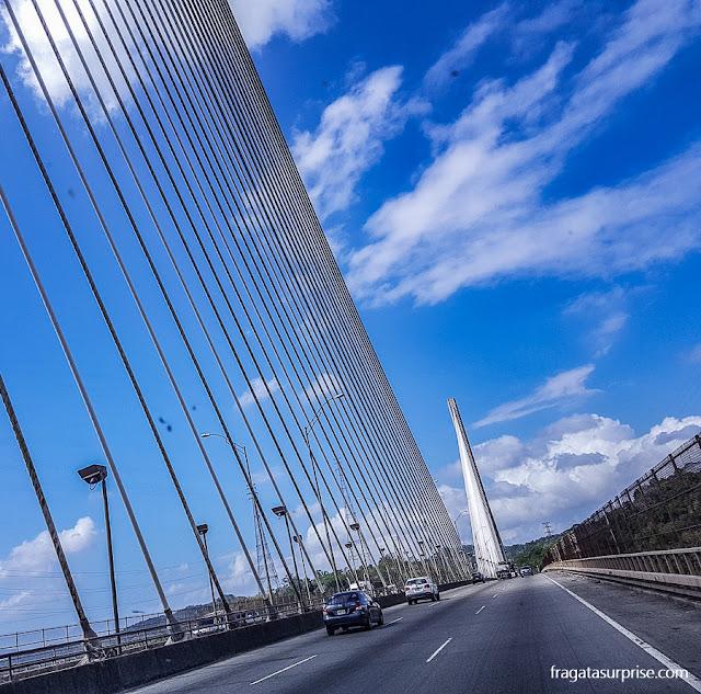 Ponte Centenário, Canal do Panamá