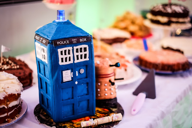 Tardis Cake, because cake is always the answer, Mandy Charlton, Photographer, writer, blogger