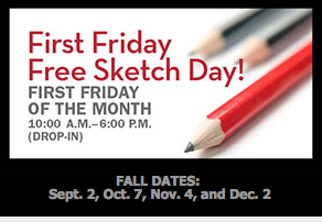 First Friday Free Sketch