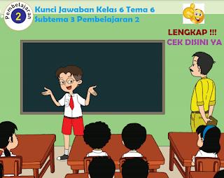 Kunci Jawaban Tematik Kelas 6 Tema 6 Subtema 3 Pembelajaran 2 www.simplenews.me