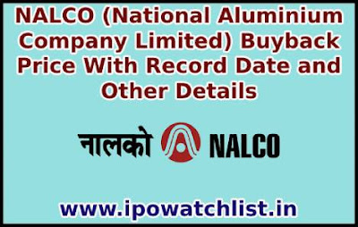NALCO buyback details