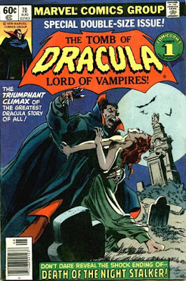 Tomb of Dracula #70, final last issue