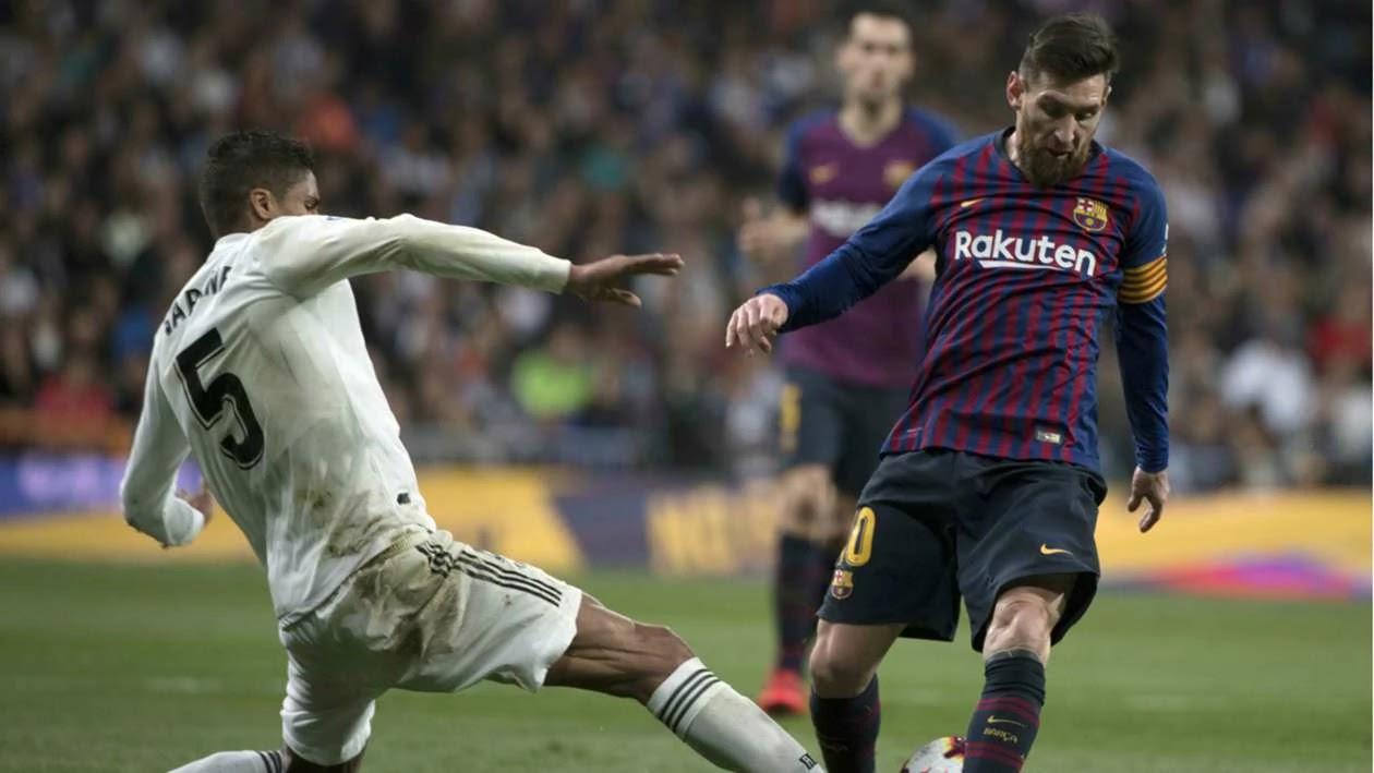 Varane reveals the secret of keeping Messi calm