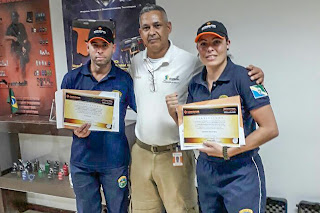 Guardas Municipais de Pinhais (PR) participam de curso sobre tecnologias não letais