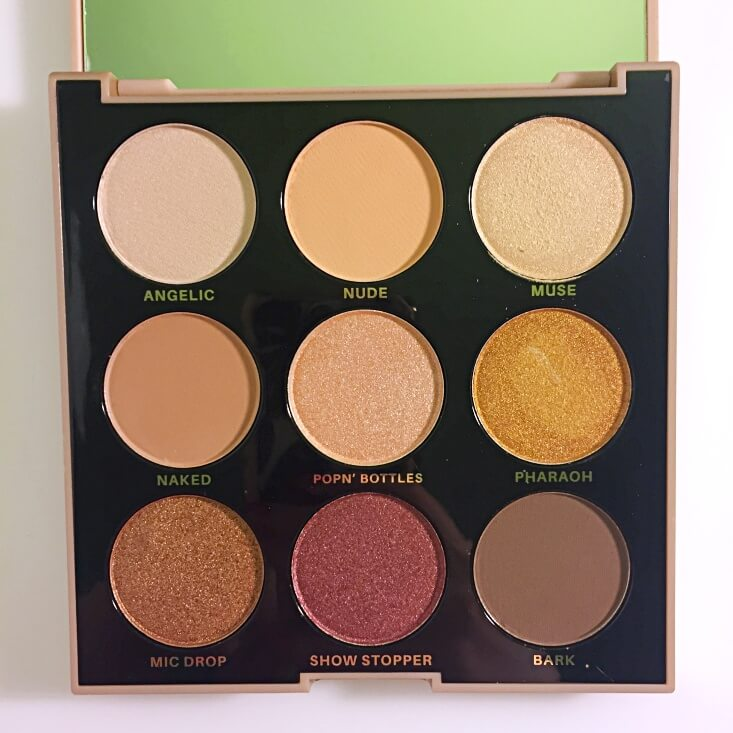 Profusion Mixed Metals eyeshadow palette