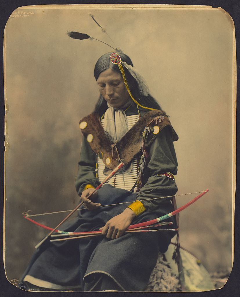 Amazing Hand-Colored Portraits of Oglala Sioux Chiefs, 1899