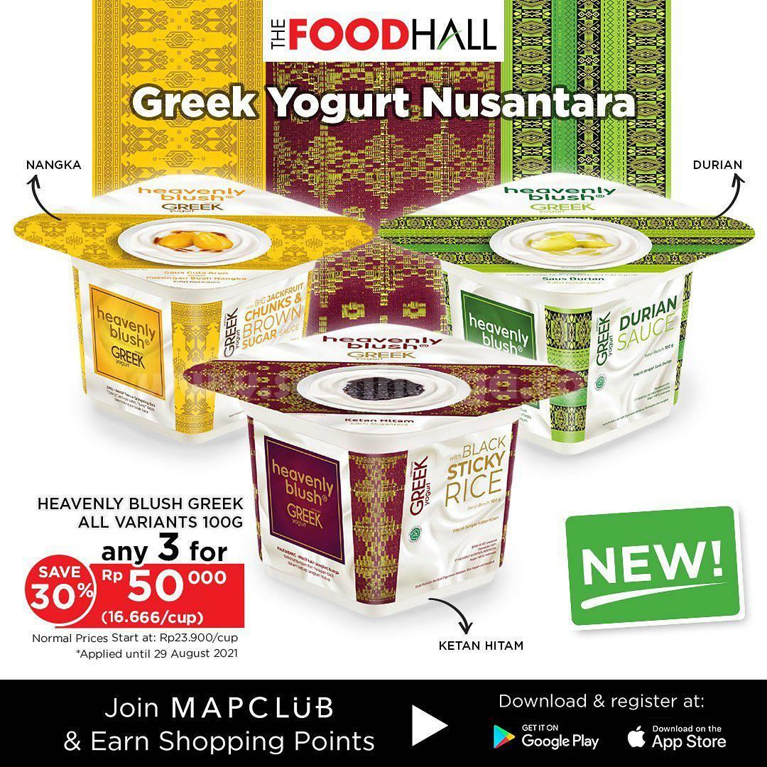 The Foodhall Promo Greek Yogurt Nusantara - Beli 3 harga Cuma Rp. 50.000