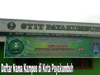 5+ Kampus Terbaik di Kota Payakumbuh