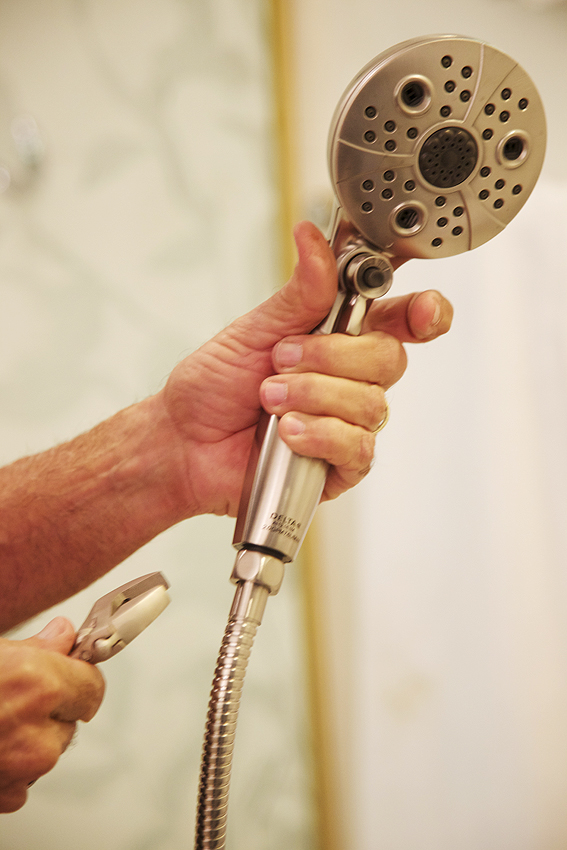 best handheld showerhead. How To Install A Shower Head and a  300 Giveaway   Shabbyfufu