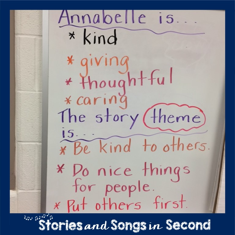 This mentor text post includes ideas and activities on how to use Extra Yarn by Mac Barnett to teach the theme of kindness to primary grade students.