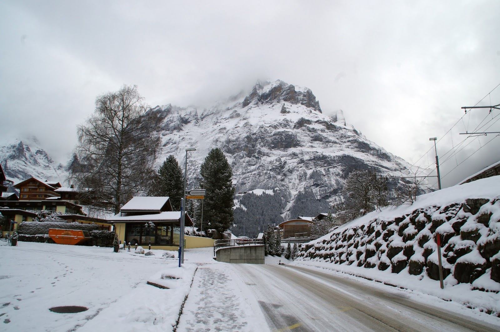 Grindelwald Switzerland Winter
