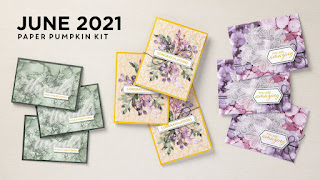 June 2021 Expressions In Color PaperPumpkin Projects #paperpumpkin