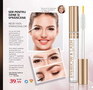 Catalog FARMASI Iulie - August 2019 promotie ser gen si sprancene
