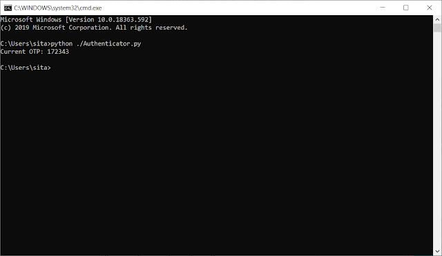 Reference - Giải quyết bài toán Microsoft Authenticator OTP trên Windowns