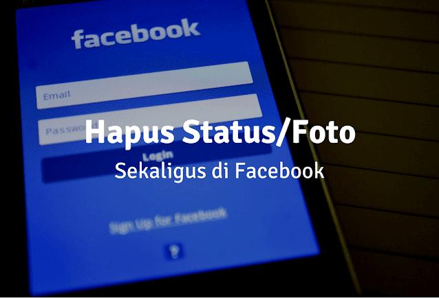 Cara Hapus Status Facebook
