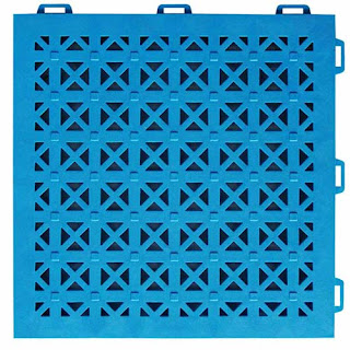 Greatmats staylock perforated interlocking rooftop tiles