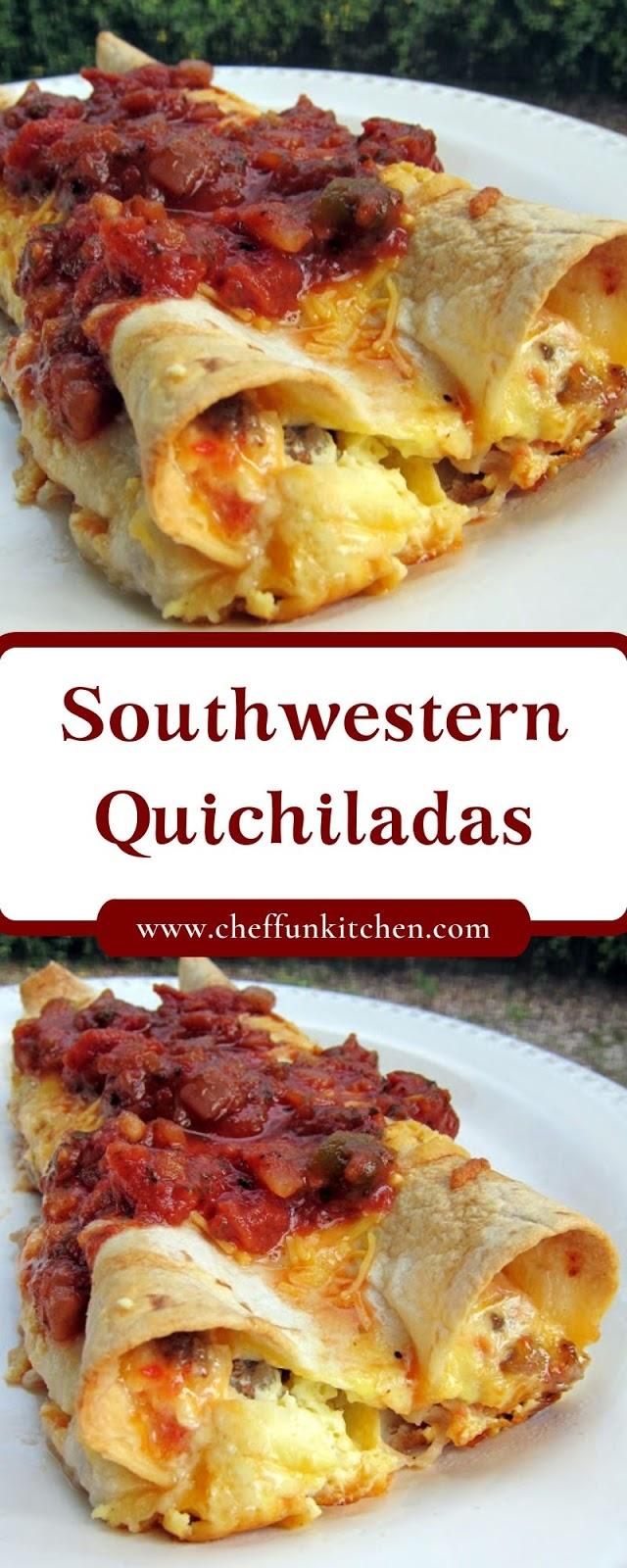 Southwestern Quichiladas