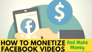 Earn money online with Facebook videos