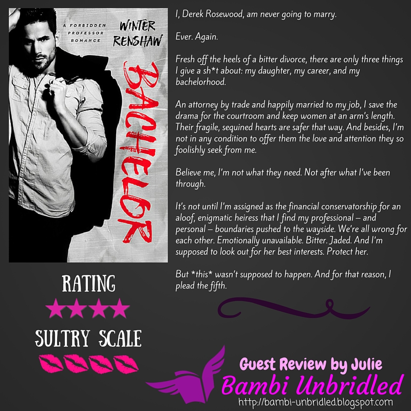 Bambi Unbridled Guest Review Bachelor By Winter Renshaw