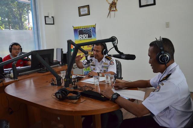 Bakamla Publikasi Kinerja Disalah Satu Stasiun Radio